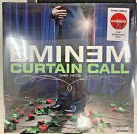 Eminem Curtain Call The Hits Limited Edition Translucent Blue Vinyl LP