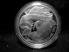 """Argent pièce de monnaie-Canada dollar 1996 """"McIntosh"""" PP 8c6778"""