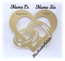 LED Geschenke Goldene Hochzeit Goldhochzeit mit Namen und Hochzeitsdatum Datum