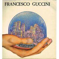 """Francesco Guccini - Metropolis (ITA 1981 EMI 3C 064-18546) LP 12"""" / EX"""