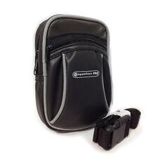 Zipped Nintendo DS & Digital Camera Black Universal Compact Bag Belt Loop Strap