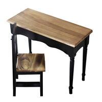 70cm BJD Wood Student Square Desk Set 1/3 SD DD MID Dollfie Furniture
