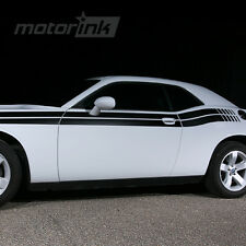 2011 2012 2013 2014 Dodge Challenger Dual Side Strobe Stripes decals kit hemi rt