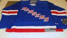New York Rangers Home Blue Jersey NHL Hockey Reebok NWT Adult L Premier New