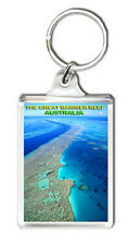 THE GREAT BARRIER REEF AUSTRALIA KEYRING SOUVENIR NEW LLAVERO