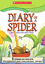 Diary of a Spider and More Cute Critter Stories, DVD, FREE SHIPPING, SEALED NEW