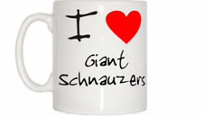 I Love Heart Giant Schnauzers Mug