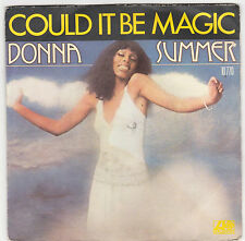 ♫ DONNA SUMMER  ♫ Could it be magic ♫  45 tr 1976  Atlantic . Whispering waves