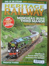 HERITAGE RAILWAY THE COMPLETE STEAM NEWS MAGAZINE ISSUE 114 JULY 31 2008