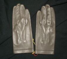 Ancienne paire de gants d'homme cuir 7 1/4 linge ancien
