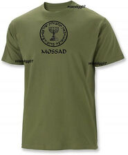 Mossad Israel Intelligence Special Operations Israeli Secret Service Shirt S-2XL