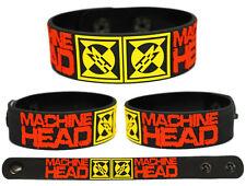 MACHINE HEAD Rubber Bracelet Wristband Burn My Eyes Unto the Locust