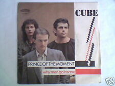 "CUBE Prince of the moment 7"" ITALO DISCO"