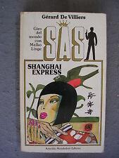 SAS #  38 - GERARD DE VILLIERS - SHANGAI EXPRESS -COPERTINA GUIDO CREPAX