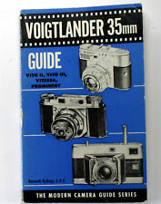 Voigtlaender 35mm Guide-Vito 2, Vito3, Vitessa, Promin.