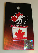 2014 Team Canada Hockey Winter Olympics Lapel Pin Button Hunter Sochi Red