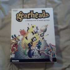 Gearheads  PC CD ROM FURIOUS WAR OF WIND-UP TOYS BOOK BOX COMPLETE