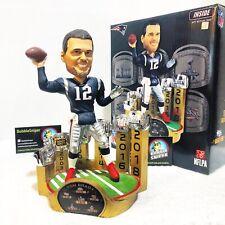 TOM BRADY New England Patriots 6X Super Bowl Champion Special Ed NFL Bobblehead