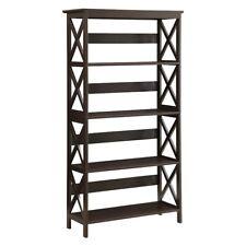 Convenience Concepts Oxford 5 Tier Bookcase, Espresso - 203050Es