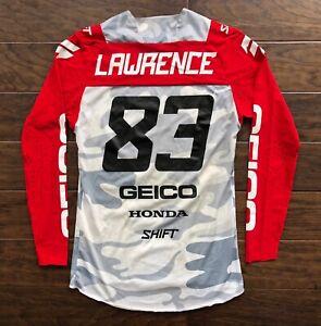 Jett Lawrence Motocross Jersey 83 Shift Geico Honda
