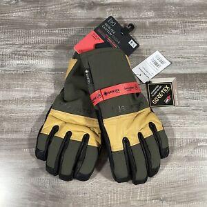 Men's Burton AK Gore-tex Clutch glove forest night green NWT Large