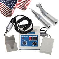 Dental Lab Marathon Micro Motor 35K rpm N3 Straight Handpiece + Contra Angle YPH