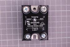 Carico Elettronico Relè fur Siemens v23100-s4034-a825 25 amp. 400 V