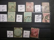 Australia Kangaroos Collection includes Scott 127 Cv $457 Dz