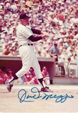 Joe DiMaggio Signed NY Yankees Authentic Autographed 3.5x5 Photo PSA/DNA #B55582