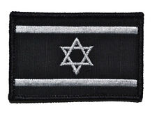 Israeli flags  LOGO Patches ARMY MORALE BADGE Embroidery HOOK & LOOP PATCH s 876