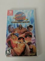 Street Fighter 30th Anniversary Collection Nintendo Switch Brand New Capcom