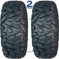 "TWO ATV TIRES 28x10.00R-14 28-10-14 P350 8ply Radial DOT ""maxxis big horn copy"""