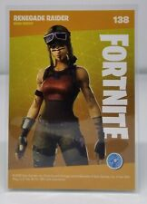 Fortnite trading card series 1 reloaded #138 Renegade Raider rare outfit MINT
