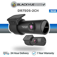 Blackvue DR750S-2CH (16GB) Front & Rear Dash Cam Wi-Fi GPS Full HD - NEW