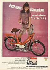 Publicité 1968  mini cyclomoteur Cady