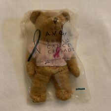 Avon Breast Cancer Crusade Bear (2001) New In Package