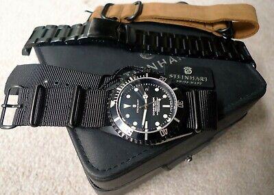 Steinhart ETA 2824-2 T0206 Ocean Black DLC Stainless Steel Automatic Diver Watch