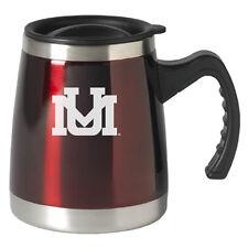 University of Montana - 16-ounce Squat Travel Mug Tumbler - Burgundy