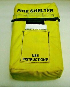 New FSS Fire Shelter w/ Belt Clips Emergency Fire Protection Firefighter NOS