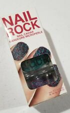 NEW! NAIL ROCK Nail Caviar 3D Manicure Polish set in NEPTUNE GREEN
