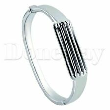Metal band Bangle Bracelet Wristband For Fitbit Flex 2 Tracker Stainless Steel