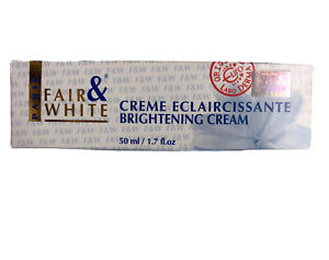 Pack of Fair and White Brightening Cream Creme 50ml UK Seller Fast Delivery