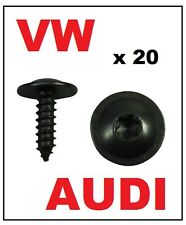 20 x VW AUDI ENGINE COVER UNDERTRAY SPLASHGUARD WHEEL ARCH TORX SCREW
