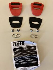 Time Bicycle Pedal Cleats Mid Model Complete With Hardware