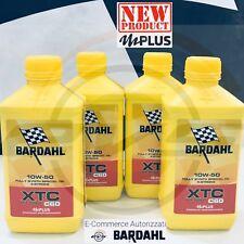4 Litri Olio BARDAHL XTC C60 10W50 OFF ROAD mPlus MOTO +filtro Hiflo HF155+HF157