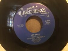 """Bill Lawrence With The Cousins - Hey Baby!/ Caribbean 7"""" Vinyl Single"""