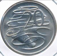 Australia, 1984 Twenty Cents, 20c, Elizabeth II - Gem Uncirculated
