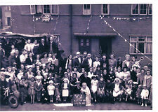 PHOTOGRAPH VJ DAY CELEBRATIONS FLETCHER ROAD IPSWICH SEPTEMBER 1945