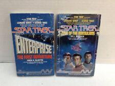 Star Trek audio cassette lot Web of the Romulans + Enterprise the First Adventur