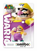 NEW Nintendo 3DS Amiibo Super Mario series Wario Japan Import Official F/S